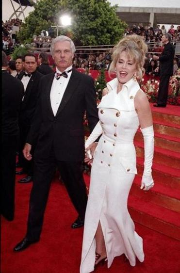 Ted Turner and Jane Fonda in 1993.